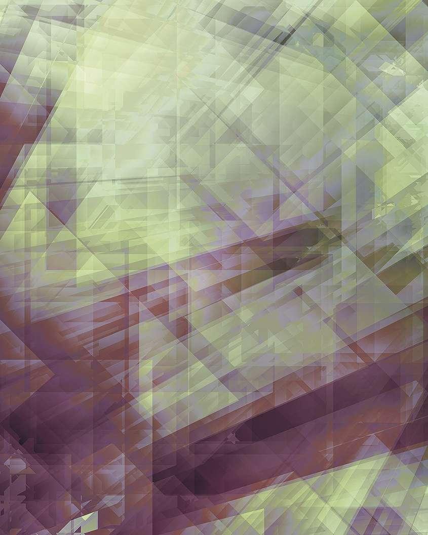 3D hatású modern mintás fali poszter
