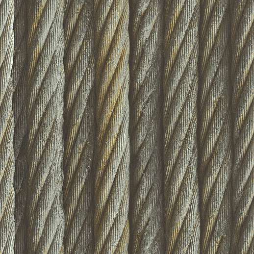 Acélsodrony hatású loft hangulatú tapéta