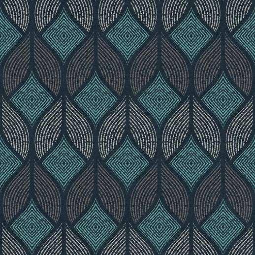 Afrikai hangulatú geometrikus mintás vlies design tapéta