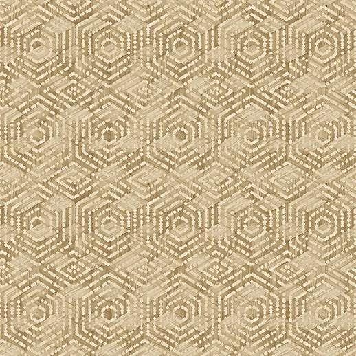 Afrikus hangulatú geometrikus mintás vlies design tapéta