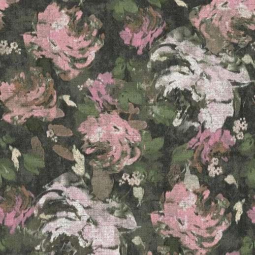Akvarell hatású elegáns virágmintás vlies design tapéta