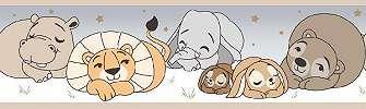 Állatmintás bordűr