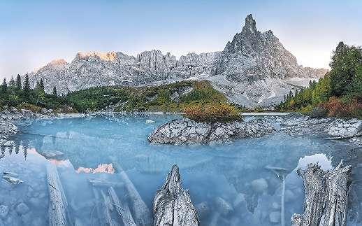 Alpesi panoráma fali poszter