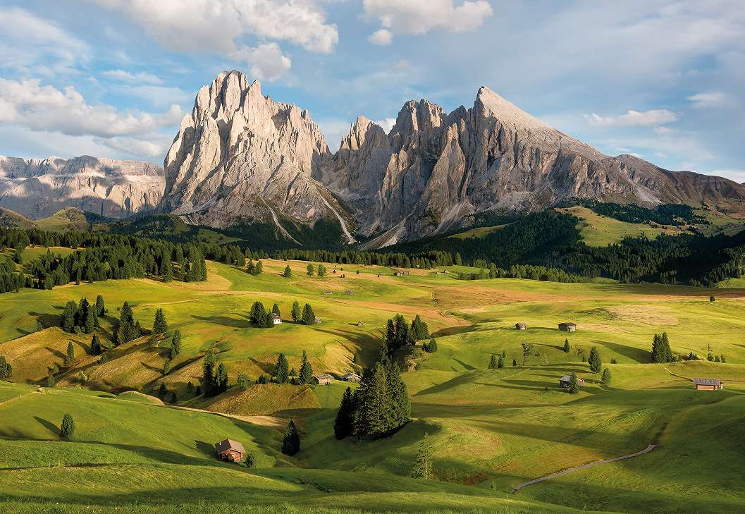 Alpesi táj fali poszter