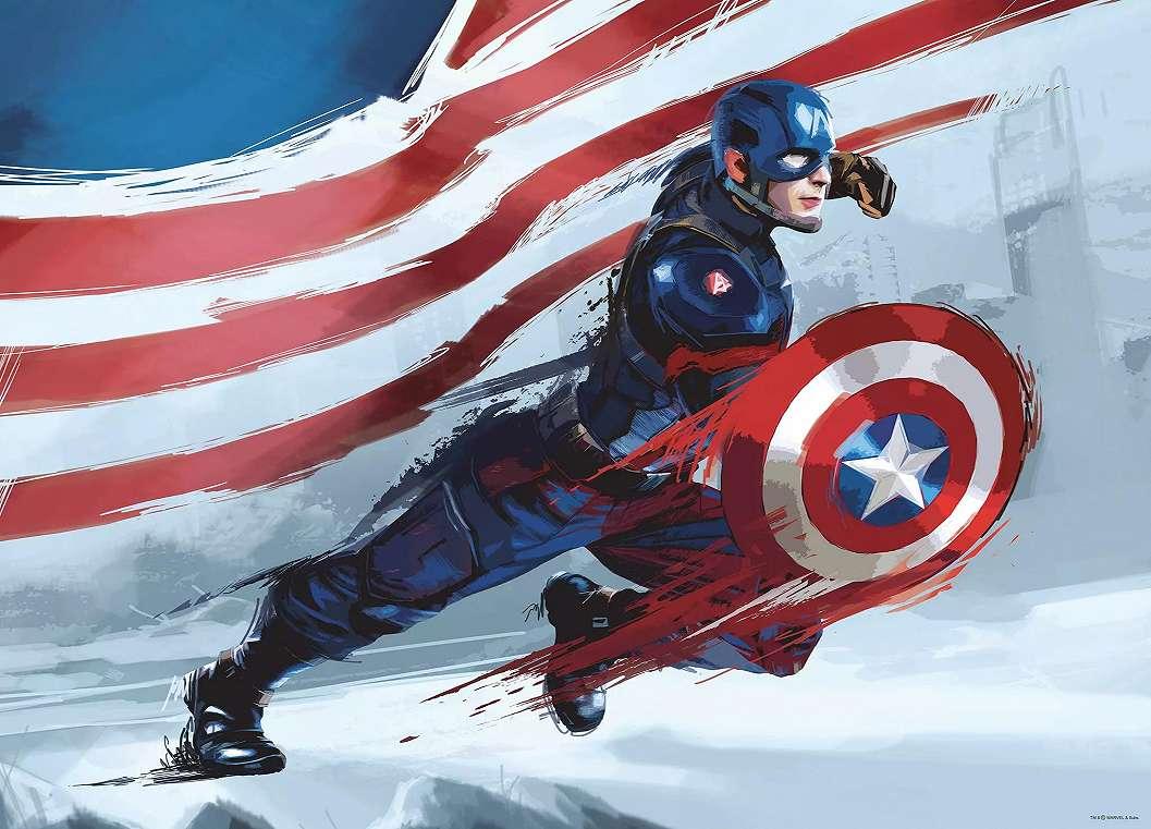 Amerika Kapitánya fali poszter
