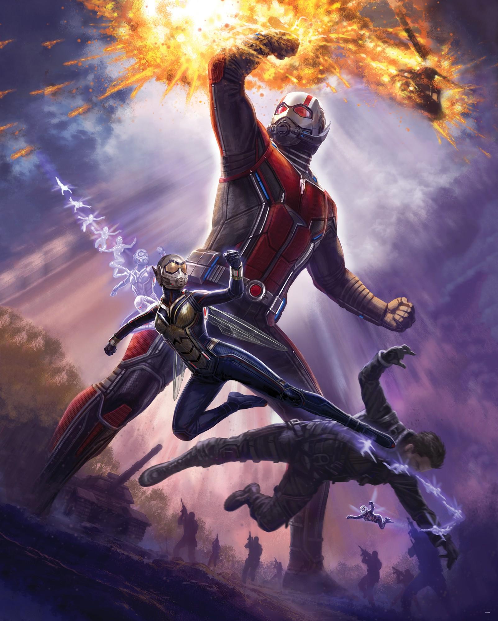 Ant man Marvel faliposzter