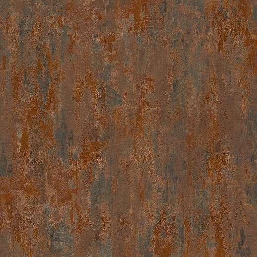 Antik rozsdás hatású vlies tapéta loft enteriőrbe
