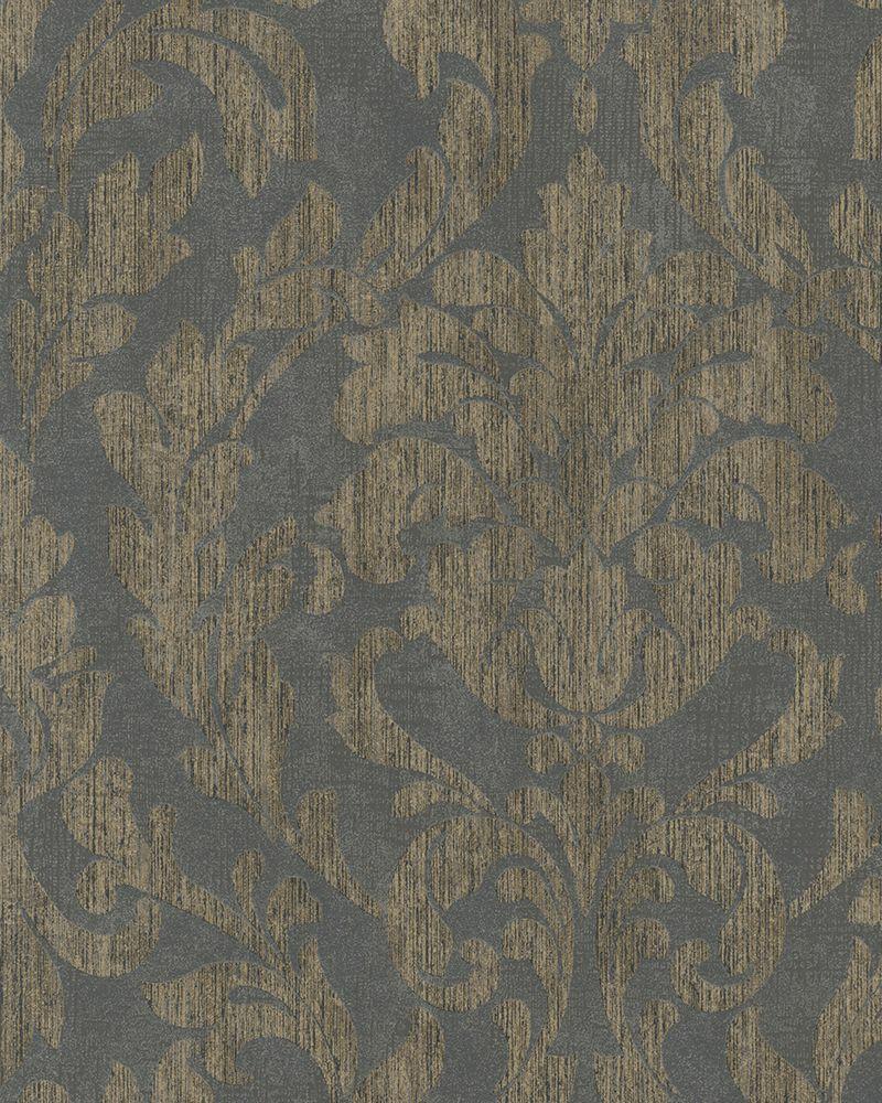 Arany színű barokk mintás tapéta