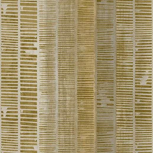 Aranybarna modern csíkos mintás vinyl mosható felületű luxus tapéta