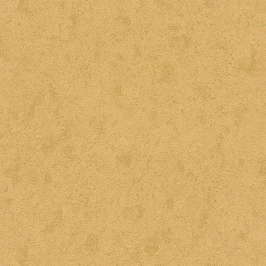 Aranysárga egyszínű foltos hatású vlies tapéta