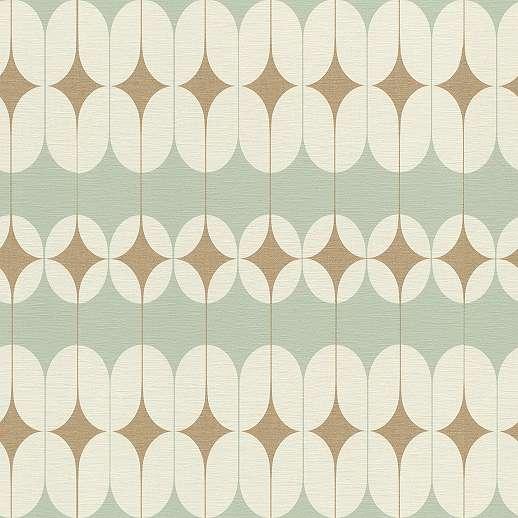Artdeco stílusú tapéta geometria mintákkal