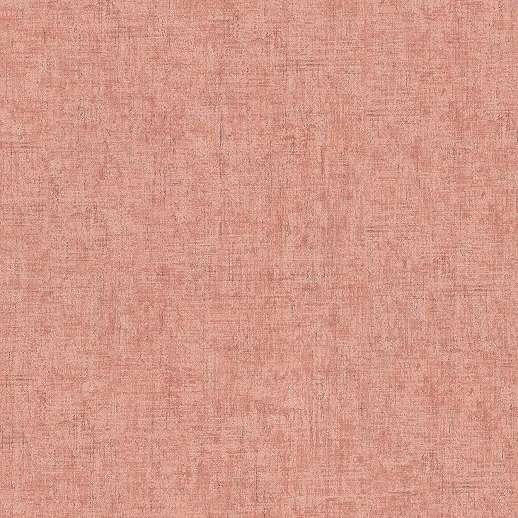 Barack színű vlies-vinyl uni tapéta foltos hatással