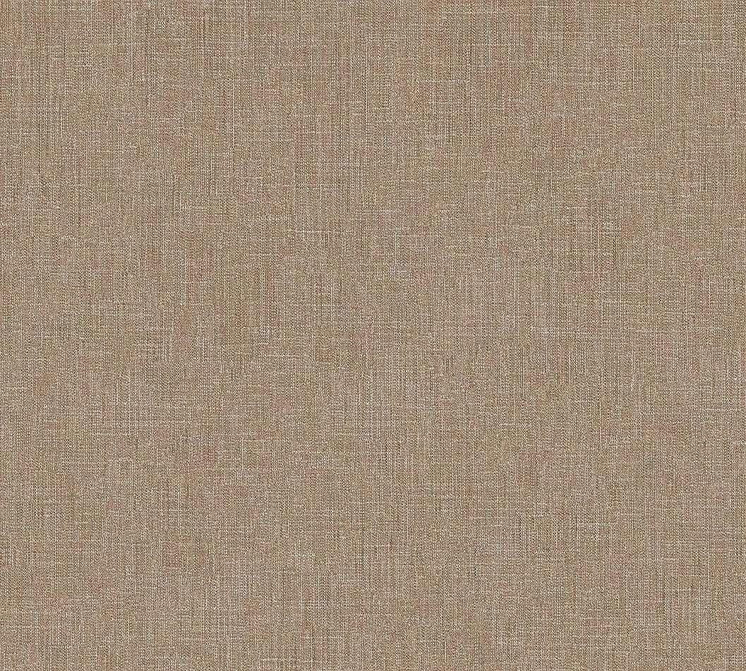 Barna egyszínű textil szőtt hatású vlies tapéta