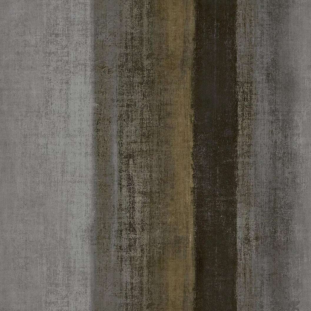 Barna elegáns csíkos mintás vinyl luxus tapéta