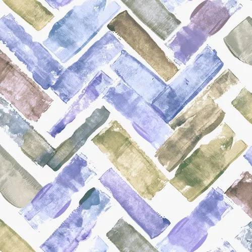 Barna kék akvarell hatású desig tapéta