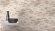 Barna-krém téglamontás loft dekor tapéta