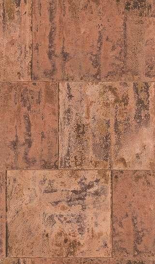 Barna, narancs beton hatású tapéta