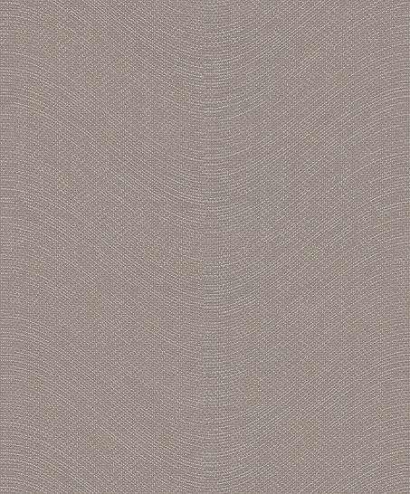 Barna struktúrált vlies tapéta finom hullám mintával