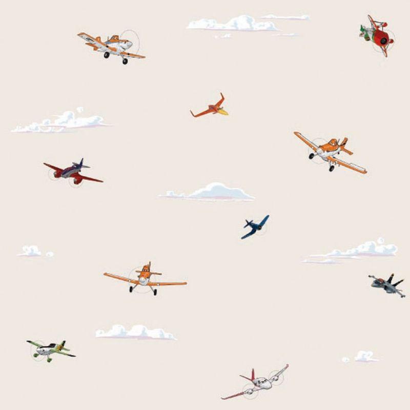 Beige Disney repcsik gyerek tapéta