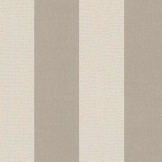 Bézs-barna vlies csíkos mintás tapéta