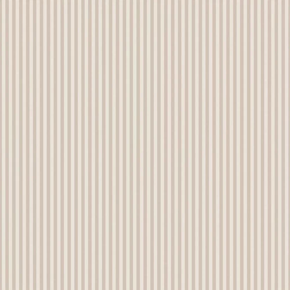 Bézs csíkos mintás vlies tapéta