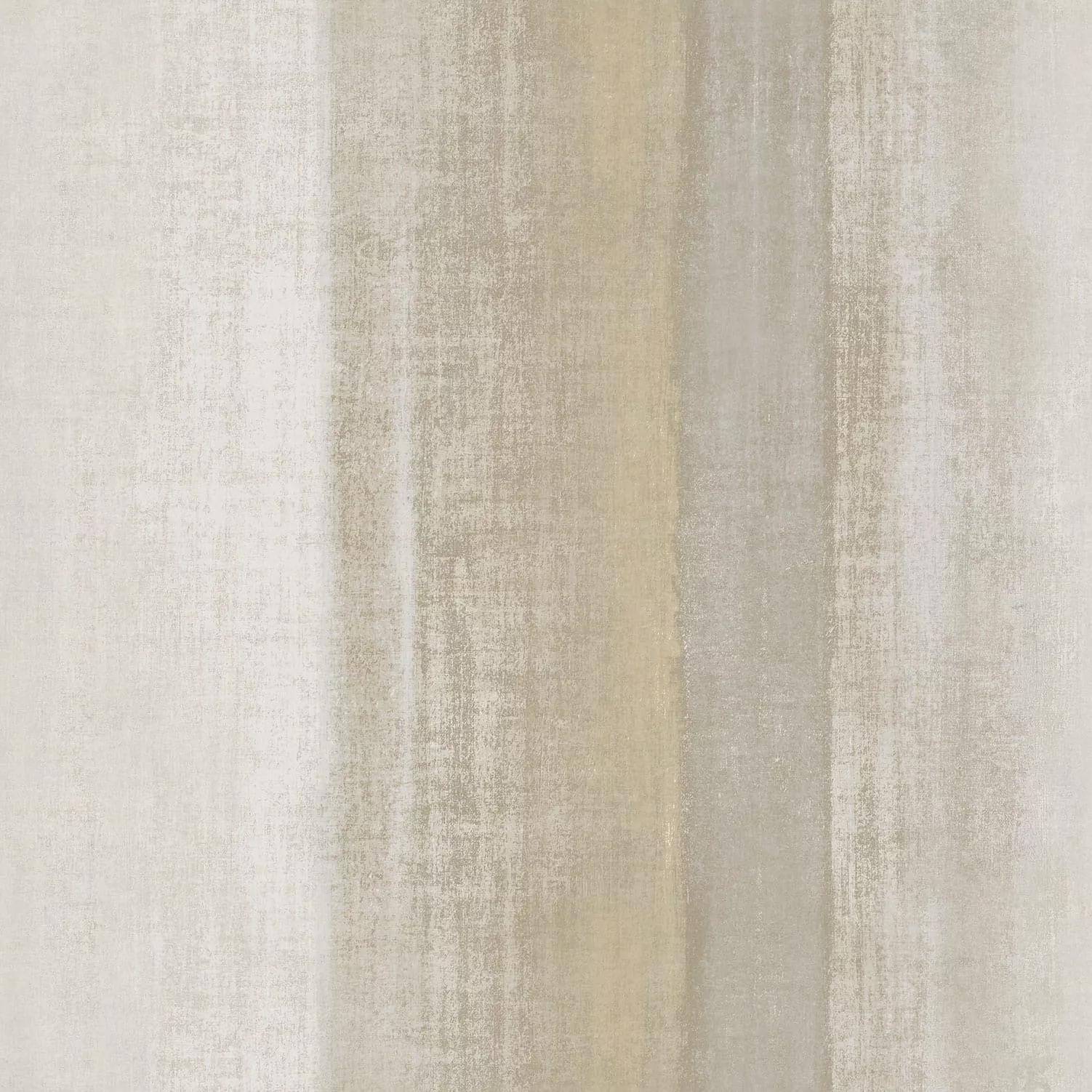 Bézs-fehér exkluzív csikos mintás vinyl tapéta