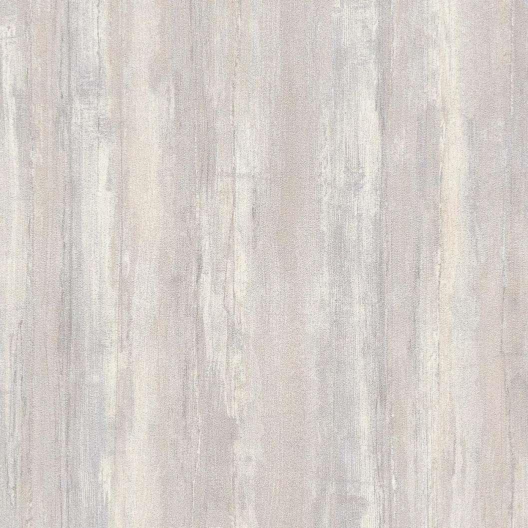 Bézs halványkék árnyalatú deszka mintás tapéta