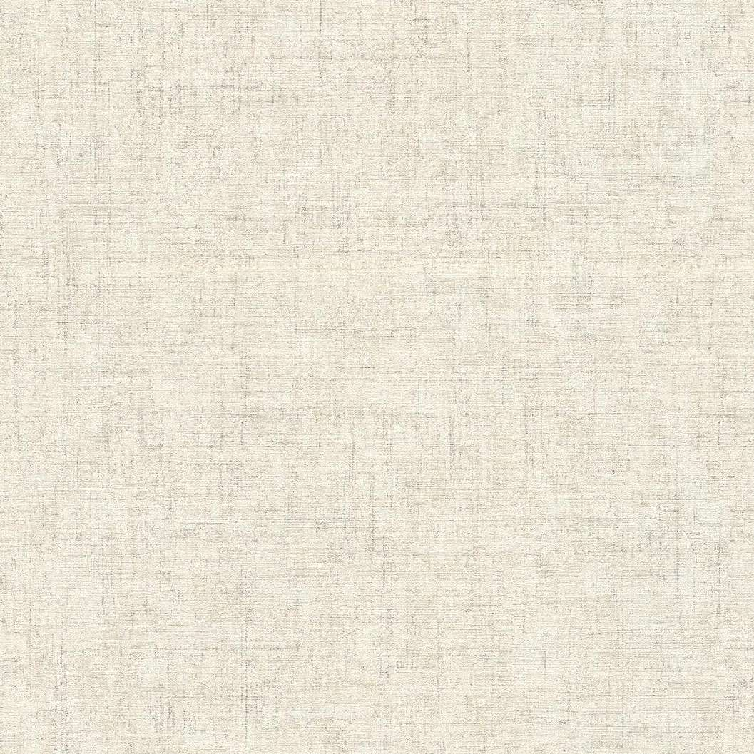 Bézs-krém felület koptatott hatású modern vlies dekor tapéta