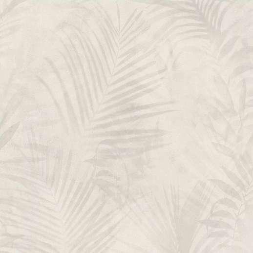 Bézs krém modern pálmalevél mintás trendi trópusi dekor tapéta
