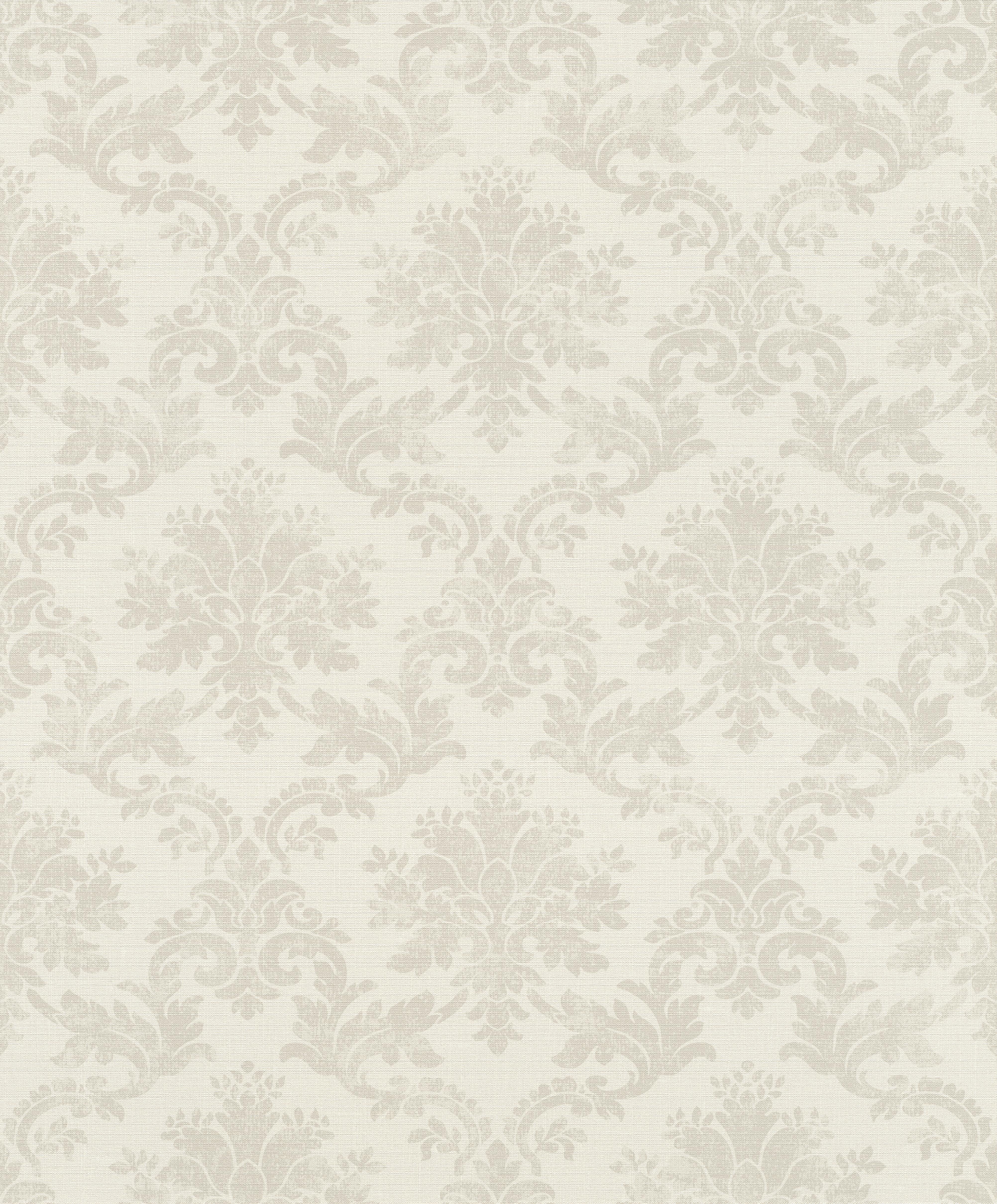 Bézs színű barokk mintás kalsszikus tapéta