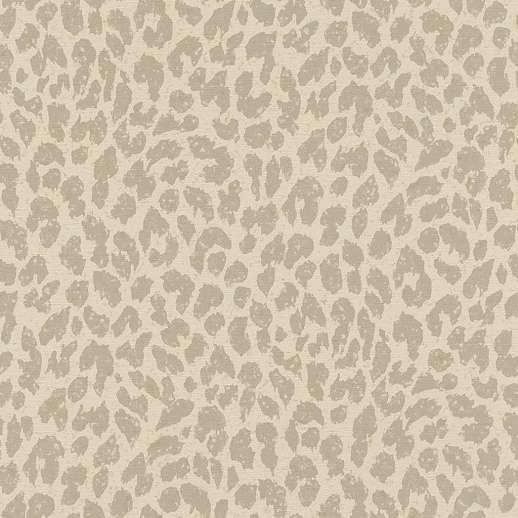 Bézs-szürke leopár bőr utánzat mintás vlies tapéta