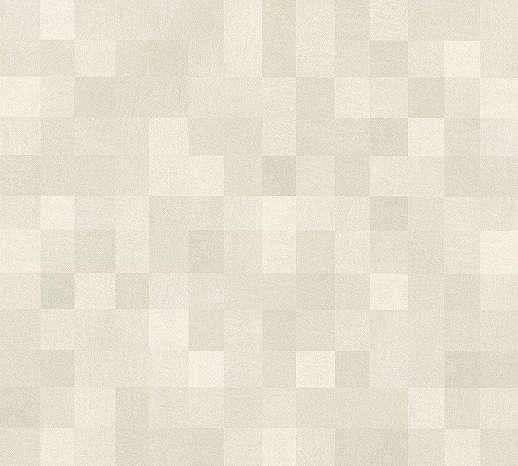 Bézs-szürke modern geometrikus mintás kockás vlies tapéta