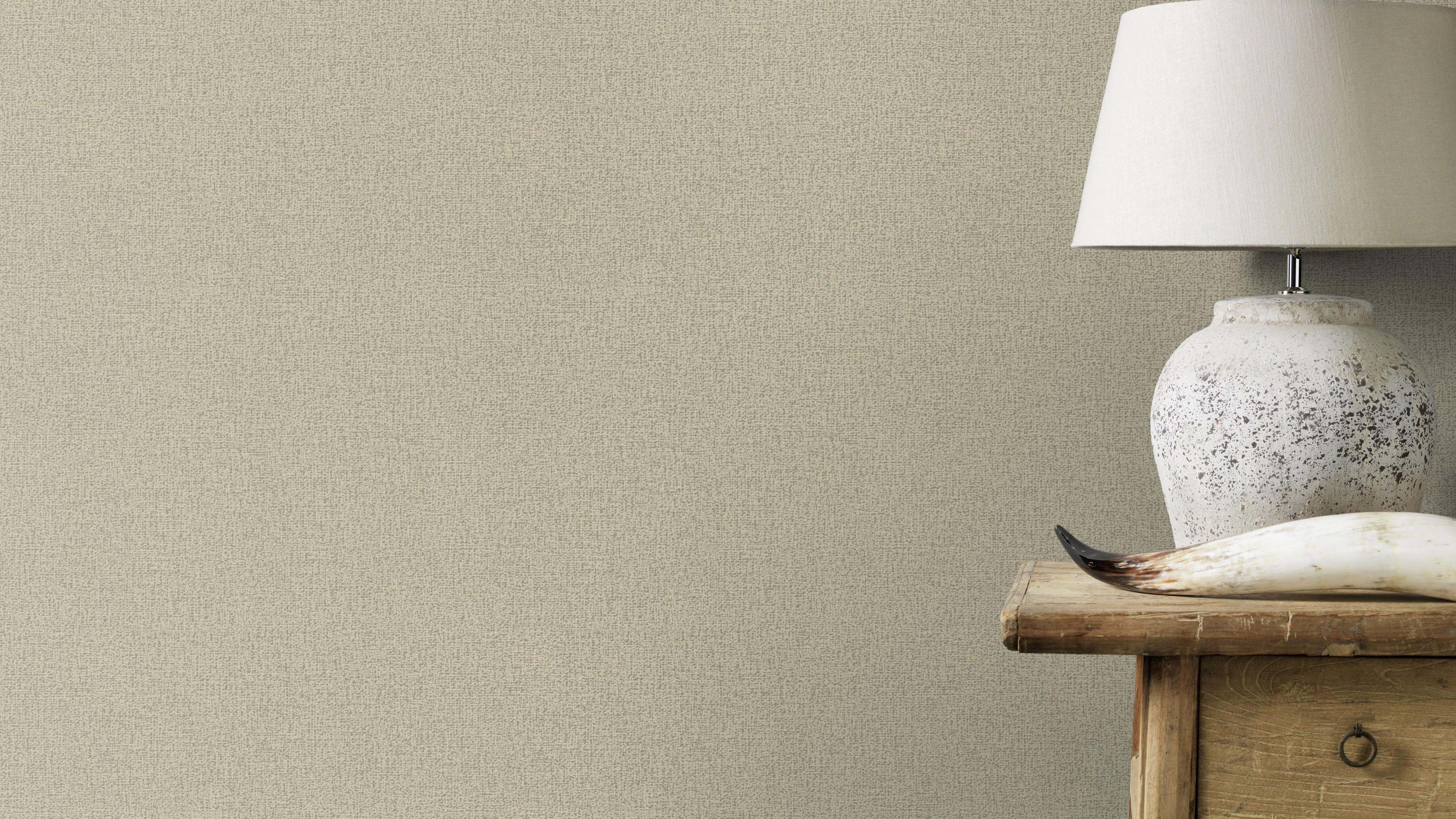 Bézs-taupe színű strukturált tapéta