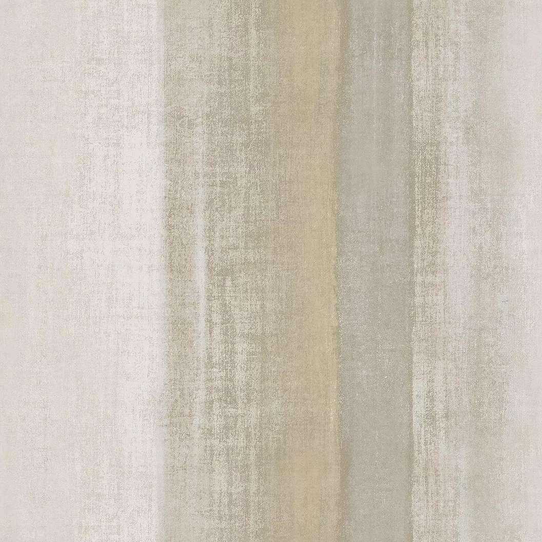 Bézsbarna csíkos mintás vinyl luxus tapéta