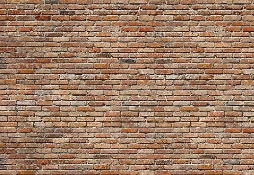 Bontott tégla fal poszter