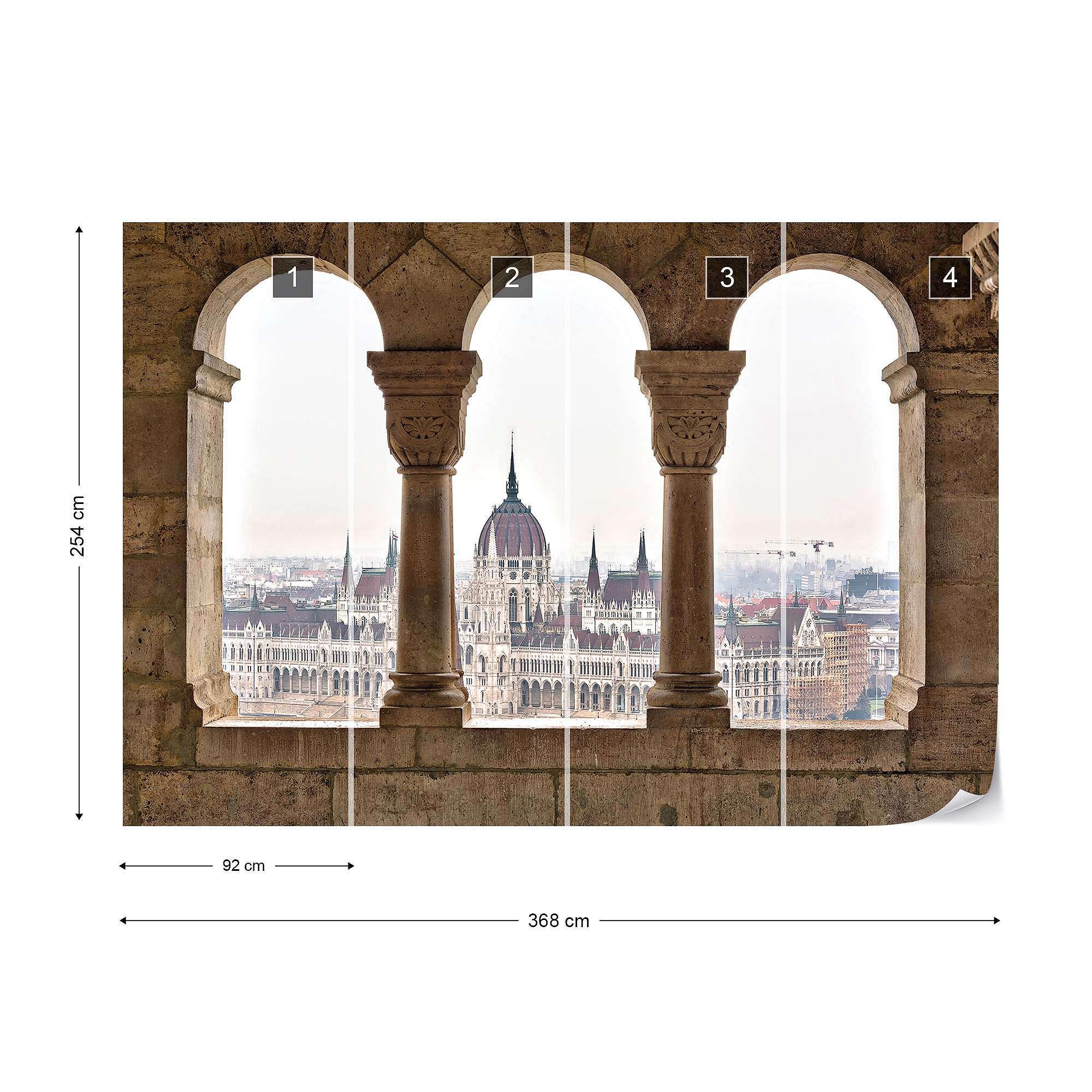 Budapest óriás fali poszter
