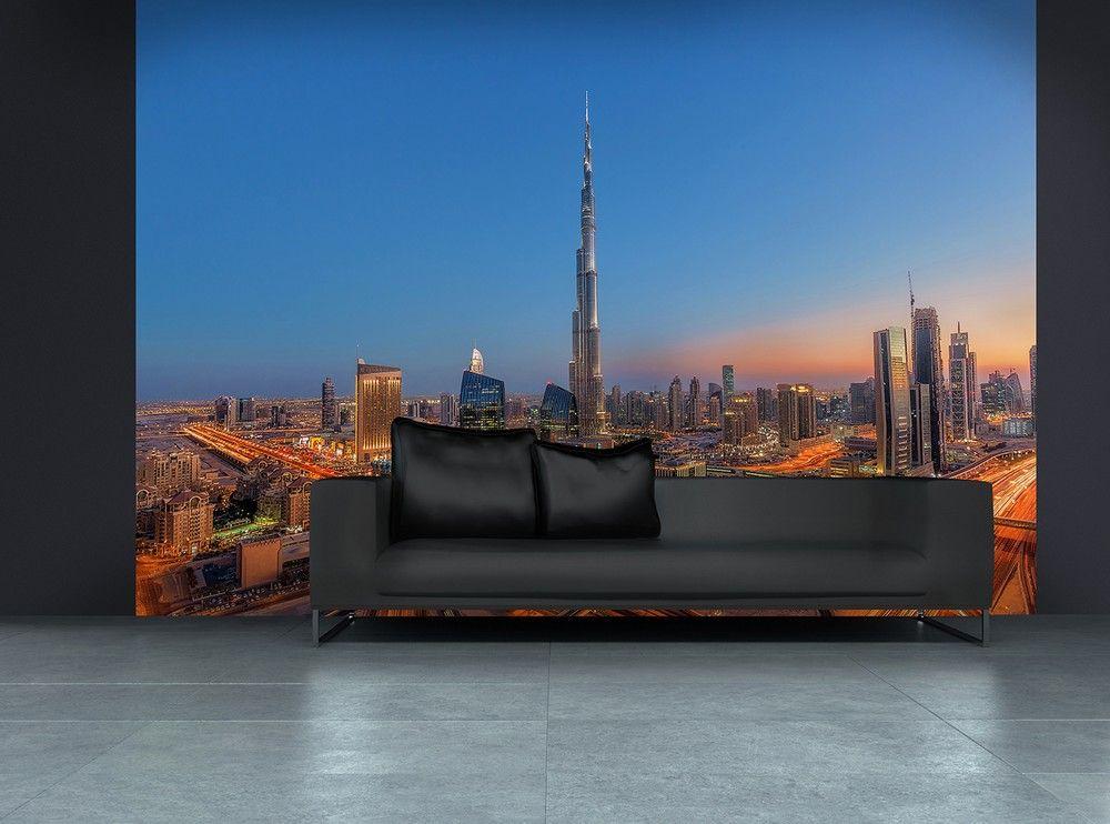 Burj Khalifah fali poszter Dubai