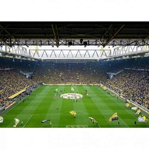 BVB Borussia Dortmund foci stadion fali poszter