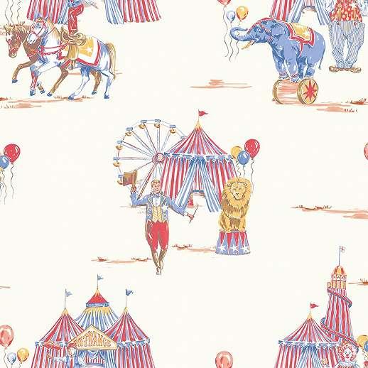 Cirkuszos vidám gyerek tapéta