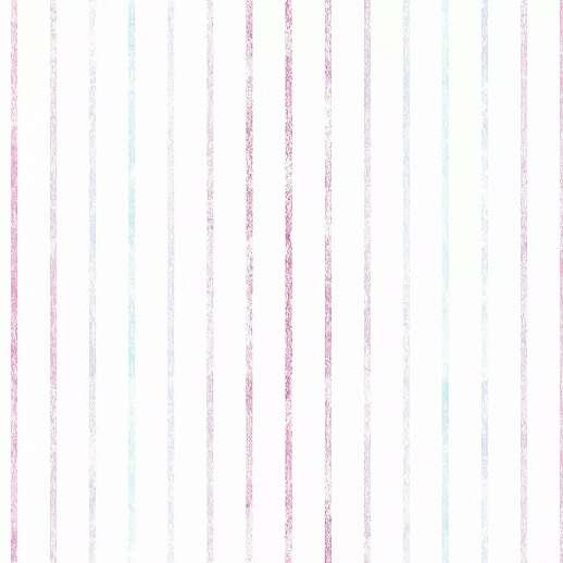 Csíkos mintás gyerek tapéta kék lila csíkos mintával