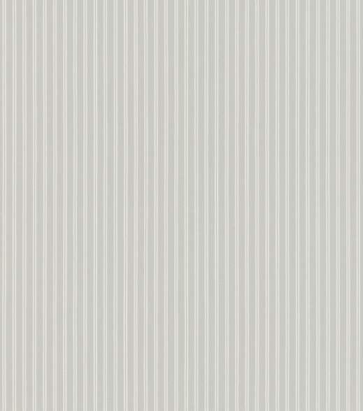 Csíkos mintás Rasch tapéta szürke fehér színekkel vékony csíkozással