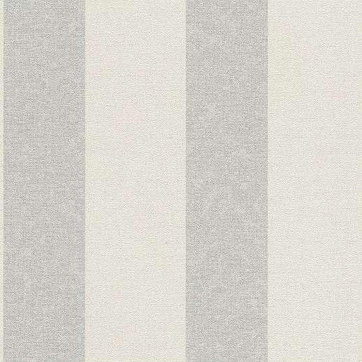 Csíkos mintás tapéta fehér-zöld csíkos mintával