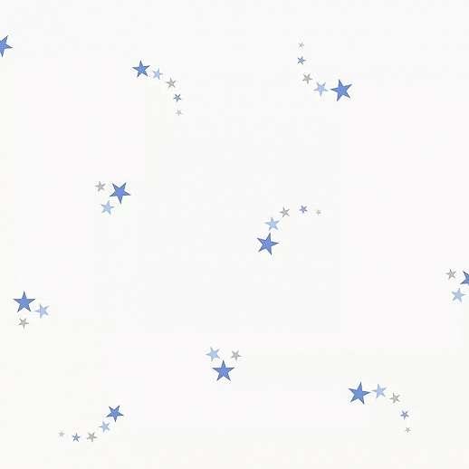 Csillag mintás gyerektapéta kék csillag mintával