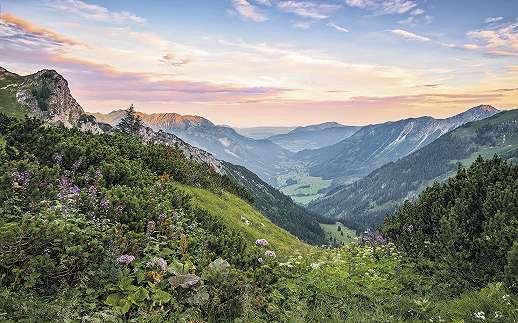 Csodálatos Alpok fali poszter