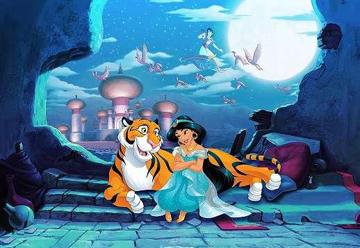 Disney Aladin fali poszter Jázmin hercegnővel