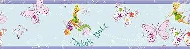 Disney csingiling, pillangó mintás bordűr