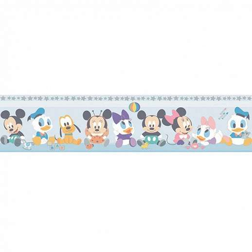 Disney figura mintás bordűr