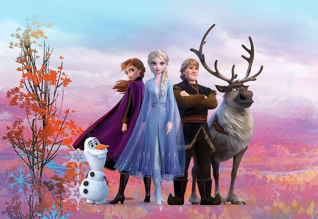 Disney Frozen fali poszter gyerekszobába