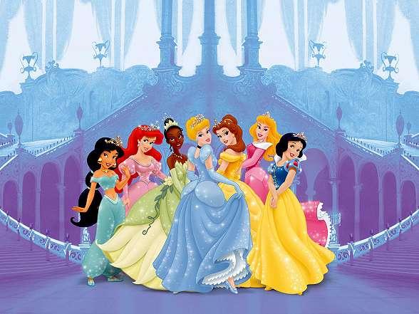 Disney hercegnők fali poszter