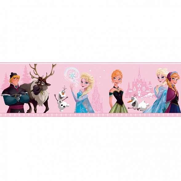Disney jégvarázs bordűr